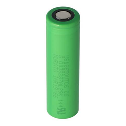 Sony Konion US18650VTC6 Akku 65,2x46,7mm für E-Zigarette und E-Shisha 3,6 Volt min. 3000mAh typ. 3120mAh maximal 30A...