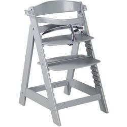 roba® Hochstuhl Treppenhochstuhl Sit Up Click & Fun, taupe, aus Holz