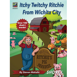 Itchy Twitchy Ritchie From Wichita City als Buch von Steven Mahalic