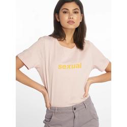 NA-KD T-Shirt Frauen  Sexual in rosa
