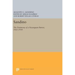 Sandino als Buch von Augusto C. Sandino