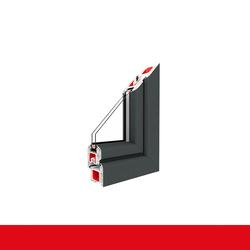Kunststofffenster Dreh (ohne Kipp) Fenster Eisenglimmer Schiefer