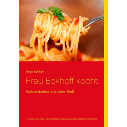 Frau Eckhoff kocht: als Buch von Birgit Eckhoff