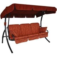 Angerer Comfort Design Marbella koralle 3-Sitzer