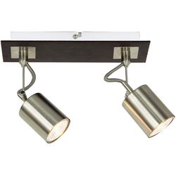 ZMH Deckenstrahler, Deckenleuchte Deckenspots 350° drehbar mit GU10 Fassung Deckenlampe