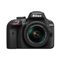 D3400 schwarz + AF-P DX 18-55mm VR
