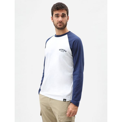 Dickies Baseball L/S T-shirt - Deep Blue