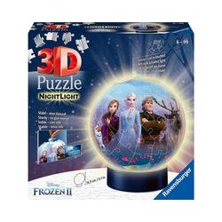 Ravensburger 3D-Puzzle 2in1 Nachtlicht & puzzleball® Ø13 cm, 72 Teile,, Puzzleteile