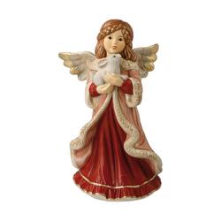 Goebel Engelfigur Kleiner Kuschelfreund Bordeaux