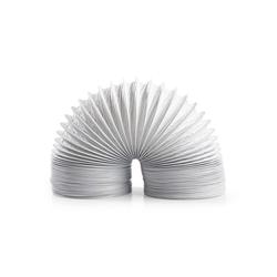 nedis Klimaanlagenschlauch für: Air Ventilation / Tumble Dryers, Weiss 600 cm