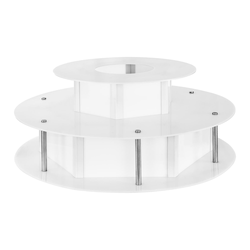 Royal Catering Leuchttisch für Schokobrunnen - 100 cm RCCF-BASE LED