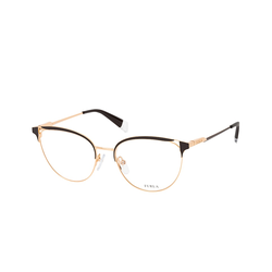 Furla VFU 294 0301, inkl. Gläser, Cat Eye Brille, Damen