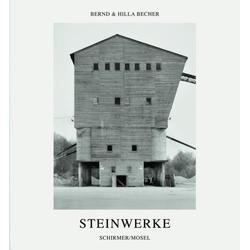 Steinwerke als Buch von Bernd Becher/ Hilla Becher
