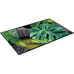 Fußmatte Neoflora, wash+dry by Kleen-Tex, rechteckig, Höhe 7 mm, waschbar