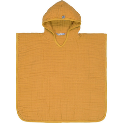 Badeponcho Musselin, senfgelb Gr. one size