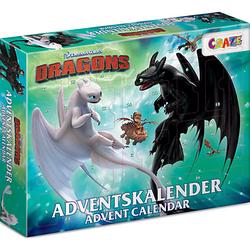 Adventskalender Dragons 41 x 32,5 x 6,2cm