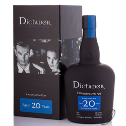 Dictador 20 YO Rum 40% vol. 0,70l