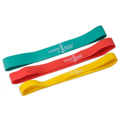 Rubberband Dittmann 3er Kombi 1x Gelb, Grün, Rot (3 Stk)