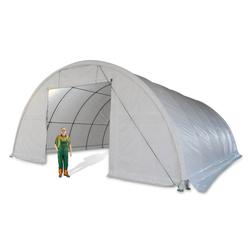 Lagerzelt Glasgow Pro 12x9,15 m Materialzelt Zeltgarage Weidezelt Lagerhalle
