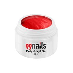 Poly Acryl Gel - Rot 15ml - Polyacryl Gel Acrylnägel Acrylgel Acryl Gel Nägel