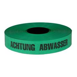 Trassenwarnband 'Achtung Abwasserleitung' / Rolle 40 mm x 250 m