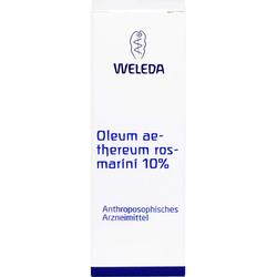 OLEUM AETHEREUM rosmarini 10% 50 ml