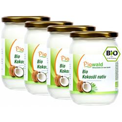 BIO Kokosöl nativ - 2000 ml (4 x 500 ml Glas)