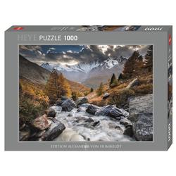 HEYE Puzzle HEYE 29712 Edition Humboldt Mountain Stream 1000 Teile Puzzle, 1000 Puzzleteile braun