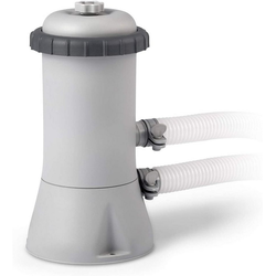 Intex Pool-Filterpumpe 28604 Krystal Clear Cartridge Filter Pump, Pool Kartuschenfilteranlage - 1,9 m³/H - 220-240V