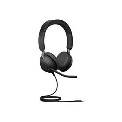 Jabra Evolve2 40, USB-C, Microsoft Teams Headset