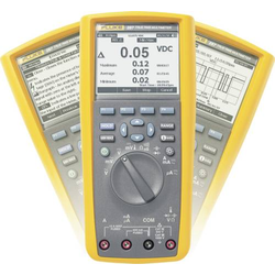 Fluke 287/EUR Hand-Multimeter digital Grafik-Display, Datenlogger CAT III 1000 V, CAT IV 600V Anzeig