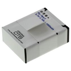 Akku für Action-Kamera GoPro HERO3, HERO3+, Li-Ion, 960 mAh, wie AHDBT-201, A...