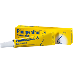PINIMENTHOL S Nasensalbe 10 g