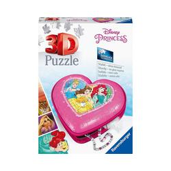 Ravensburger 3D-Puzzle 3D-Puzzle Herz - Disney Princess, 54 Teile, Puzzleteile