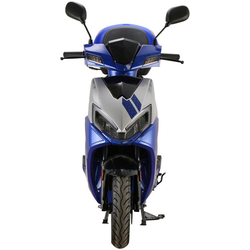GT UNION Motorroller Sonic X 45, 50 ccm, 45 km/h, Euro 5, mit Topcase blau