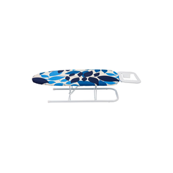 ONVAYA Tischbügelbrett Tischbügelbrett, Mini Bügelbrett, Bügeltisch, Kleines, platzsparendes Bügelbrett blau
