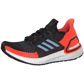 adidas Ultraboost 19 black-orange-blue/ white, 37.5