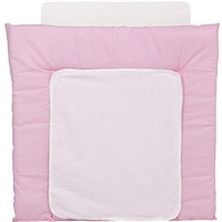Polini Wickelauflage 77 x 72 cm, rosa Tupfen
