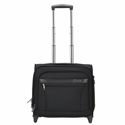 d&n Business & Travel 2-Rollen Businesstrolley 41 cm Laptopfach schwarz