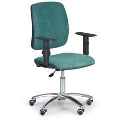 Bürostuhl, schreibtischstuhl torino ii, grün