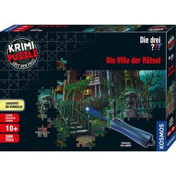 Kosmos Puzzle Krimipuzzle Die drei ??? Die Villa der Rätsel, 300 Puzzleteile, Made in Germany