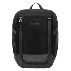 Travelite Basics Rucksack 36 cm schwarz grau