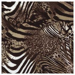 Linoows Papierserviette 20 Servietten Afrika, Fellmuster Afrikanischer, Motiv Afrika, Fellmuster Afrikanischer Tiere