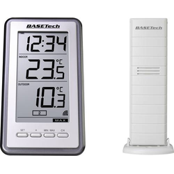 Basetech TS-9160 Funk-Thermometer Silber