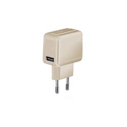sbs SBS USB Ladegerät 1000 mAh 1x USB 1A in gold USB-Ladegerät