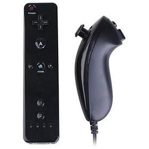CaCaCook Comaptible with Wii Controller, Wii Wireless Remote Motion Controller und Nunchuk - Ersatz-Remote-Game Controller, kompatibel für Nintendo Wii und Wii U