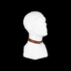 Rimba Leder-Halsband, M/L