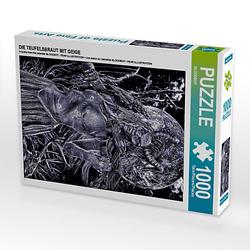 DIE TEUFELSBRAUT MIT GEIGE Lege-Größe 48 x 64 cm Foto-Puzzle Bild von Tobias Huber Puzzle