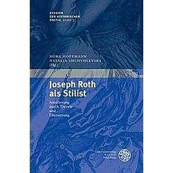 Joseph Roth als Stilist - Buch