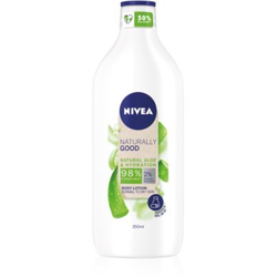 Nivea Naturally Good feuchtigkeitsspendende Bodylotion mit Aloe Vera 350 ml